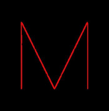 Logo Markus Vogl Buchstabe M