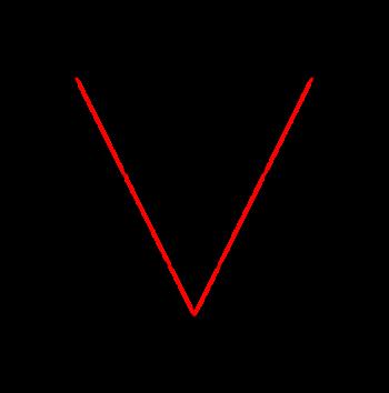 Logo Markus Vogl Buchstabe V