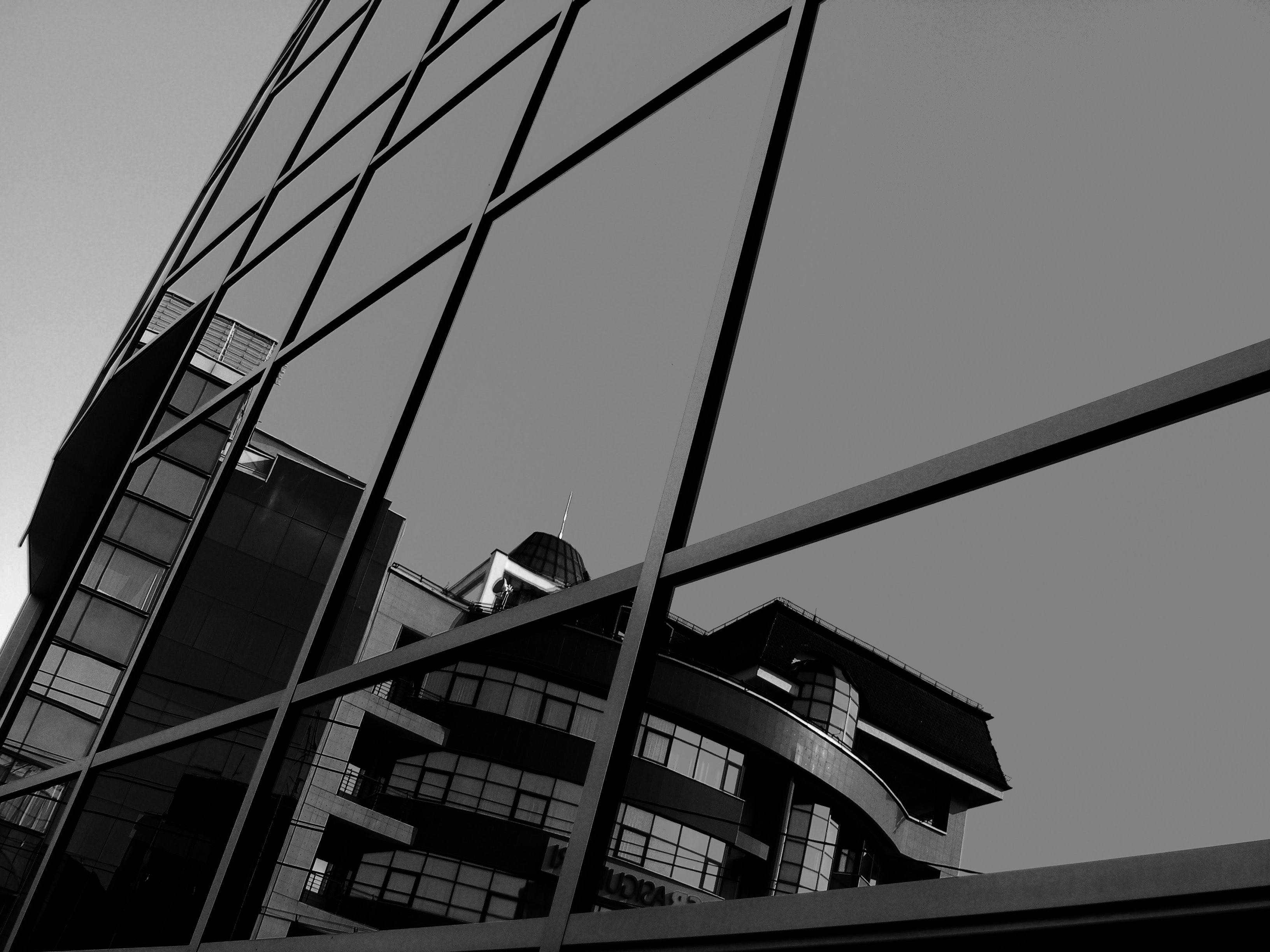 architecture black and white black and white